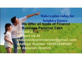 We Offer Loan
